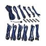 Bitfenix Black & Blue Alchemy 2.0 CSR Modular Cable Kit For Corsair PSUs