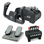 "CH Products ""Captain's Pack"" For PC & Mac (Inc USB Yoke, Quad Throttle & Pedals)"