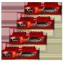 G.Skill DDR3-1600 16GB Quad Channel [RipjawsX] F3-12800CL9Q-16GBXL