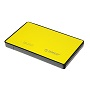 "Orico Yellow 2588US3 2.5"" USB3 External Hard Drive Enclosure"
