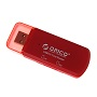 Orico Red USB3 TF & SD Card Reader