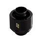 "Swiftech Black 3/8"" x 5/8"" Brass Lok-Seal G1/4"" Compression Fitting"