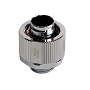 "Swiftech Chrome 3/8"" x 5/8"" Brass Lok-Seal G1/4"" Compression Fitting"