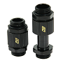 "Swiftech Black SLI & CrossFireX 20 To 33mm Brass Lok-Seal G1/4"" Connector"