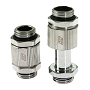 "Swiftech Chrome SLI & CrossFireX 20 To 33mm Brass Lok-Seal G1/4"" Connector"