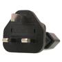 EU 2 Pin to UK Plug Adapter