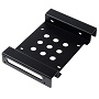 "Orico Black Aluminium AC52535-1S 5.25"" To 3.5"" & 2.5"" Bay Converter"